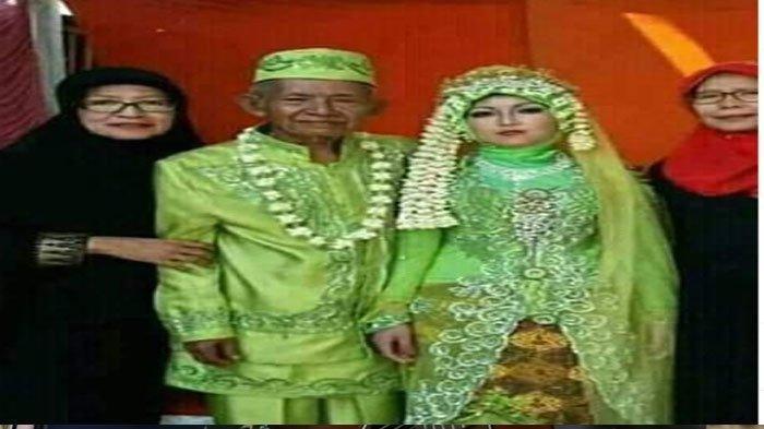 Viral Kakek 63 Tahun Nikahi Wanita 27 Tahun