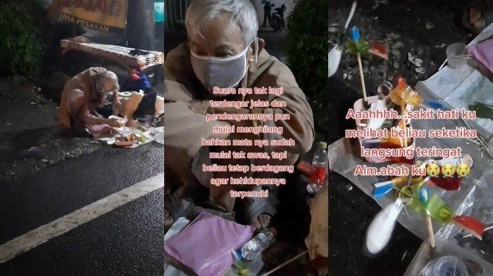 Viral Kisah Kakek Penjual Kincir Angin Mainan, Berjualan demi Nafkahi Istri