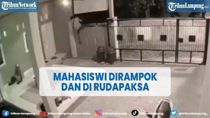 Mahasiswi Dirampok dan Dirudapaksa di Kamar Kos, Pria Bercelana Pendek Terekam CCTV