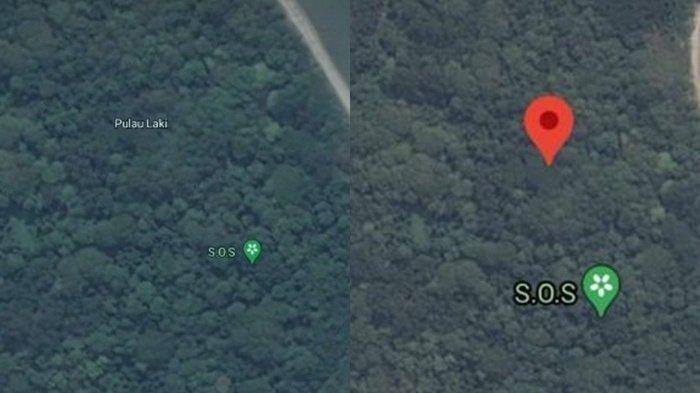 Viral Muncul Tanda SOS di Pulau Laki Tempat Jatuhnya Pesawat Sriwijaya Air SJ 182