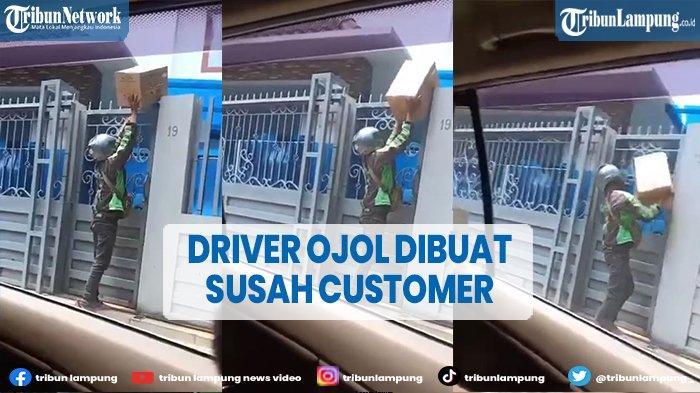 Viral Driver Ojol Dipersulit Saat Angkat Barang, Netizen Geram