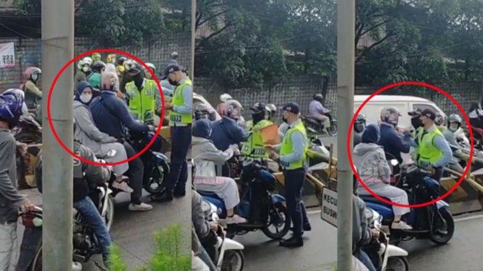 Viral Pengendara Marahi Petugas Transjakarta karena Dilarang Masuk Jalur Busway