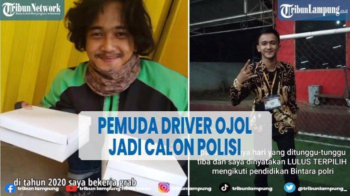 Viral Pemuda Driver Ojol Jadi Calon Polisi, Tetangga Ikut Bangga