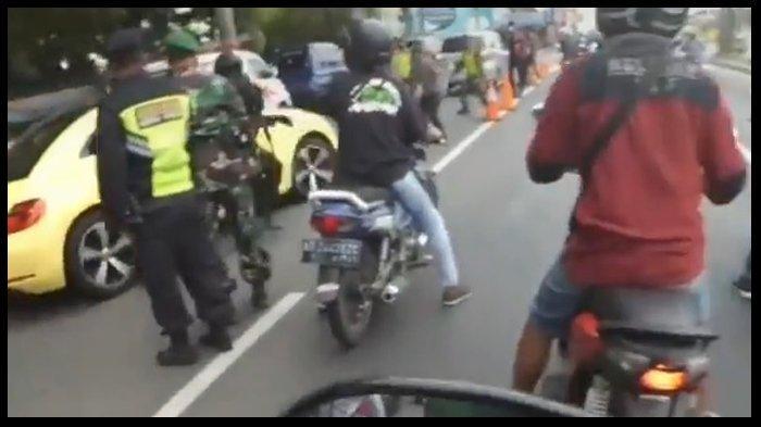 VIRAL Pengendara Mobil Tabrak Polisi di Klaten, Terdengar Suara Diduga Tembakan