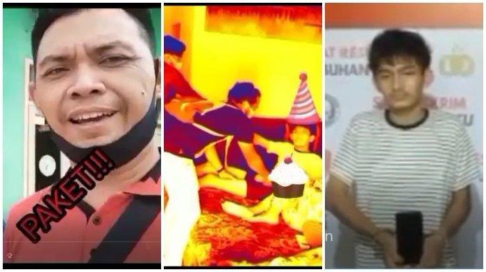 Viral Polisi Nyanyikan Lagu Ulang Tahun saat Penangkapan, Pelaku Asyik Tertidur