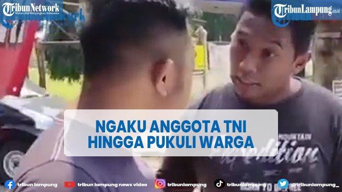 Viral Pria Mengaku Anggota TNI Pukuli Pengemudi Mobil Gegara Serempetan