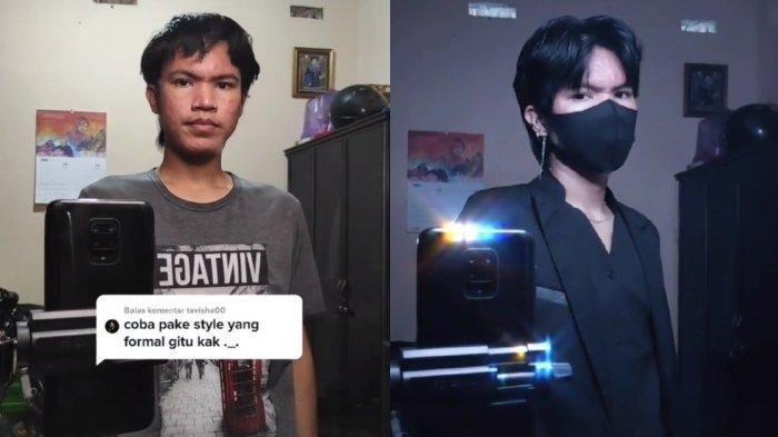 Viral Pria Tulungagung Ubah Penampilan Mirip Artis Korea Han Seojun