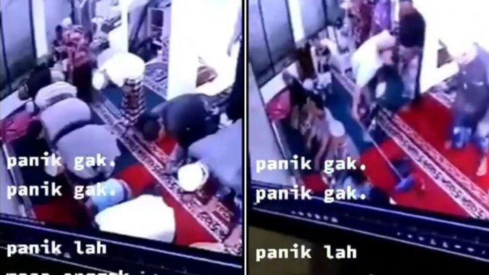 Viral Tikus Masuk Masjid Bubarkan Barisan Shalat Jamaah