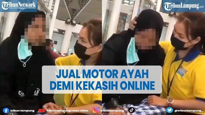 Viral Gadis Jual Motor Ayah demi Temui Kekasih Online di Jakarta