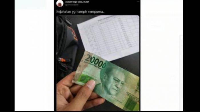 Viral Uang Rp 20.000 Ditambal dengan Sobekan Rp 2.000, BI Angkat Suara