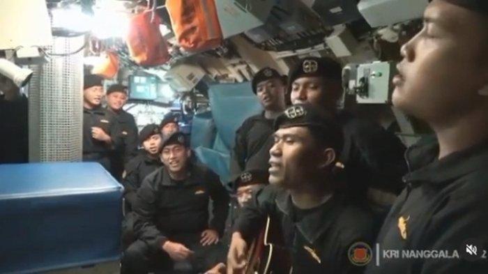 Viral Video Kapten dan Kru KRI Nanggala-402 Nyanyi Lagu Sampai Jumpa di Dalam Kapal