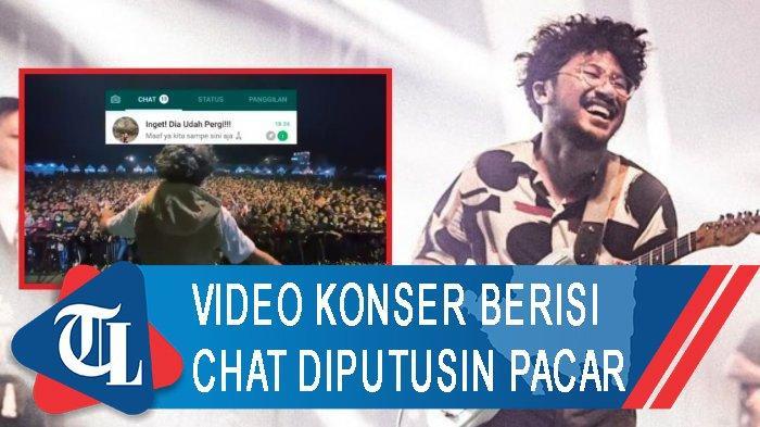 Viral Video Konser Kunto Aji Berisi Chat Diputusin Pacar, Buat Netizen Mewek
