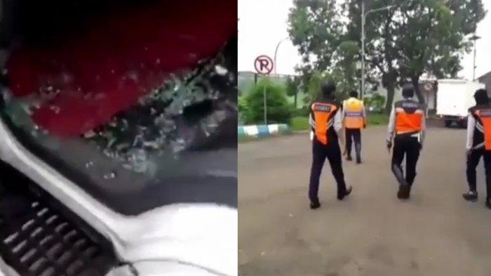 Viral Video Truk Dilempari Besi dan Batu oleh Petugas Dishub hingga Kaca Pecah di Pasuruan