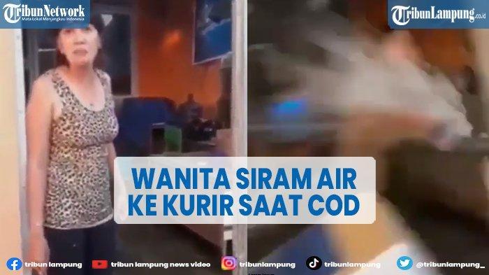 Viral Kurir COD Dimarah-marahi dan Disiram Air saat Berikan Paket Pesanan