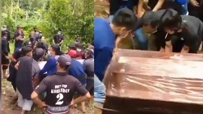 Viral Proses Pemakaman Jenazah Pasien Covid-19 Tanpa APD di Tana Toraja