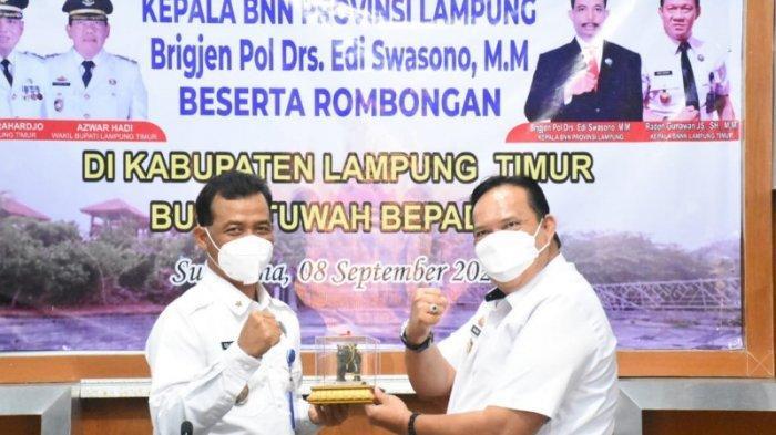 Wabup Lampung Timur Minta Masyarakat Ikut Berpartisipasi Berantas Narkoba
