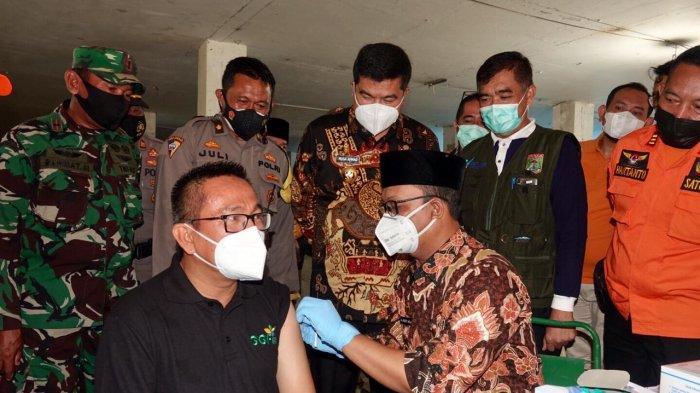 Pemkab Lampung Tengah Vaksinasi Massal di Bandar Jaya Plaza
