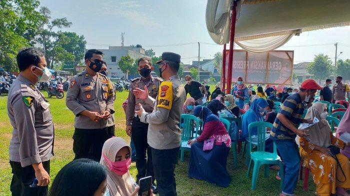 Wadir Samapta Polda Lampung Baksos Peduli Covid-19 di Lampung Timur