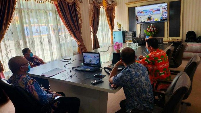 Wagub Lampung Instruksikan Pemkab Tanggamus Percepat Upaya Penanganan Covid-19