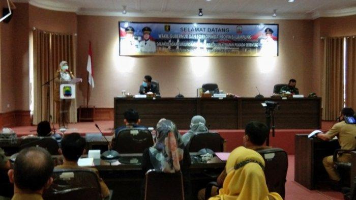 Wagub Nunik Minta Penyelenggaraan Pilkada Lampung Selatan 2020 Taati Protokol Kesehatan