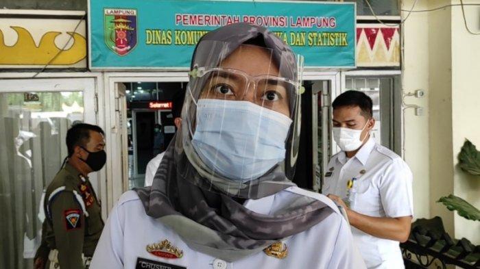 Wagub Nunik Siap Jadi Orang Pertama Disuntik Vaksin Covid-19 di Lampung