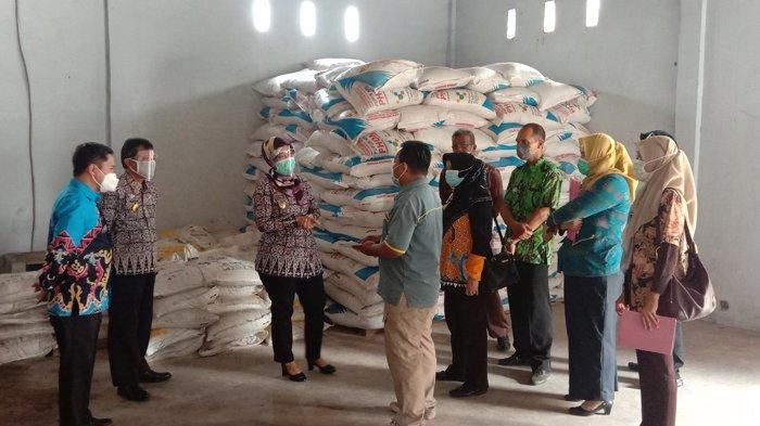 Wagub Nunik Tinjau Gudang Pupuk di Pringsewu, Pastikan Pupuk Subsidi Aman Jelang Musim Tanam