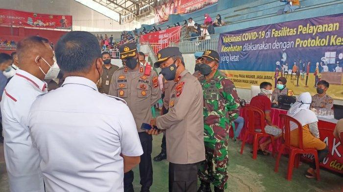 Wakapolda Lampung: Capaian Vaksin di Lamsel Sudah Bagus, Kendalanya Hanya Dropping