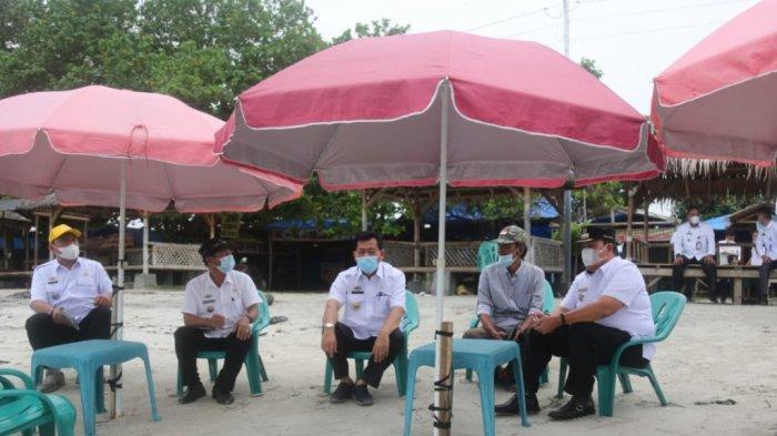 Wakil Bupati Lampung Timur Azwar Hadi Sidak Tempat Wisata untuk Pastikan Patuhi Prokes