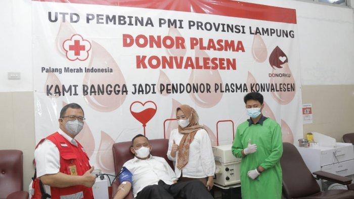 Donor Plasma Konvalesen di Pringsewu Lampung Dijanjikan Imbalan Rp 250 Ribu