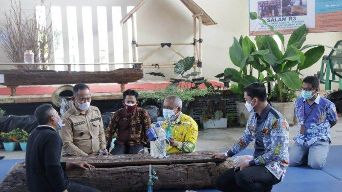 Wakil Bupati Pringsewu Fauzi Minta Warga Isolasi di Rumah Bijak Buang Sampah Medis