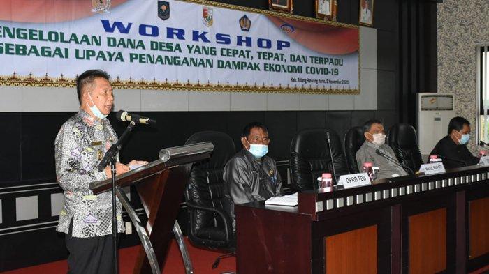 Wakil Bupati Tulangbawang Barat Fauzi Hasan Sebut Dana Desa Harus Dikelola Secara Transparan