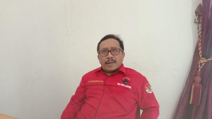 Endro S Yahman Gantikan M Nasir sebagai Ketua PDI Perjuangan Pesawaran