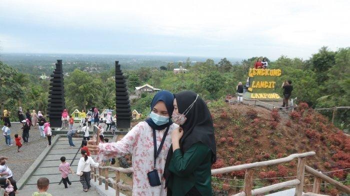 Wali Kota Eva Dwiana Isyaratkan Tetap Buka Tempat Wisata di Bandar Lampung
