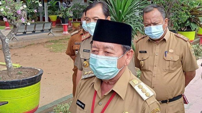 Awasi Keramaian Jelang Tahun Baru di Kota Bandar Lampung