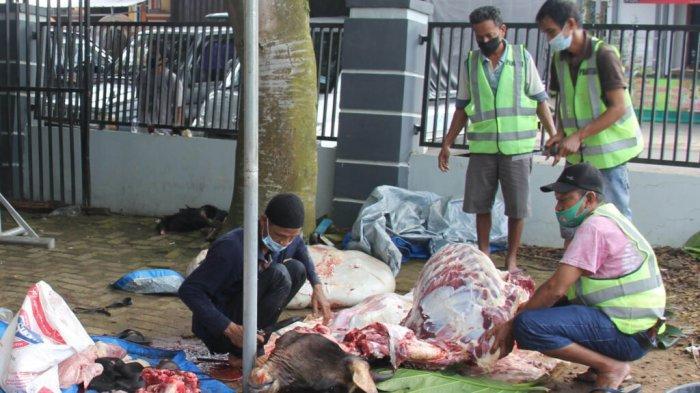 Wali Kota Metro Lampung Ingatkan Warga Pasar Margorejo Jaga Kebersihan dan Prokes
