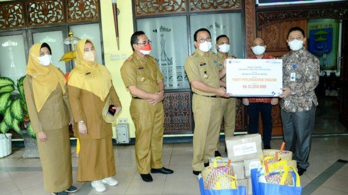 Pemkot Metro Lampung Terima CSR Perlengkapan Jenazah