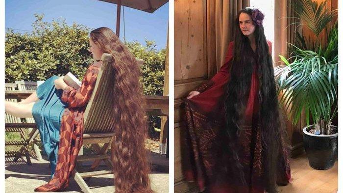 Rapunzel di Dunia Nyata Ini Tak Pernah Keramas Selama 20 Tahun, Bagaimana Caranya Merawat Rambut?