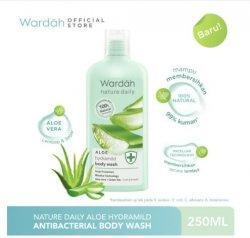 Wardah Nature Daily Aloe Hydramild Body Wash 250 ml