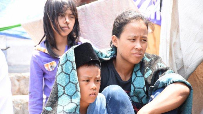 Warga Eks Pasar Griya Sukarame Hengkang dari Halaman DPRD Bandar Lampung