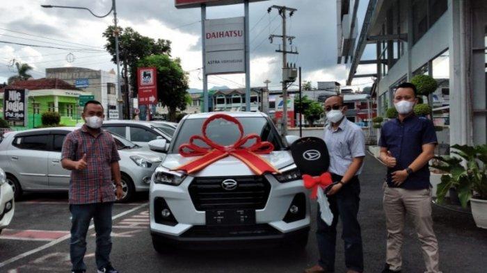 Warga Kemiling Bandar Lampung Beli Daihatsu Rocky Tergiur Model dan Fitur Canggih