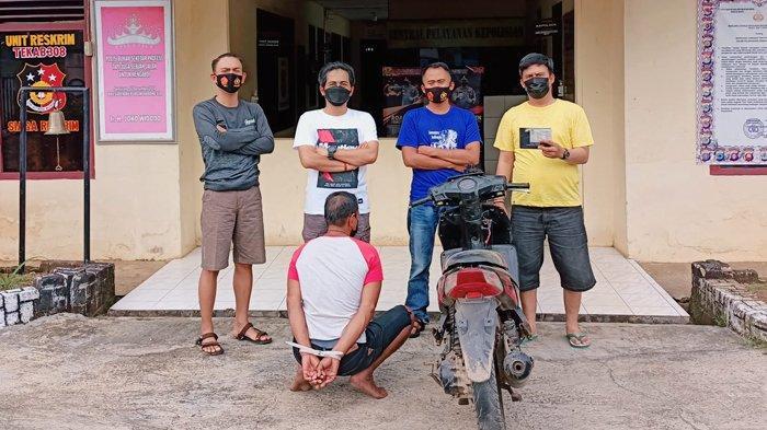 Warga Lampung Timur Bawa Kabur Motor Orang yang Sudah Baik Hati Beri Pekerjaan
