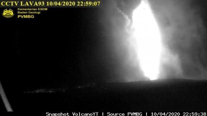 Pos Pengamatan: Gunung Anak Krakatau Timbulkan 1 Gempa Vulkanik Dangkal