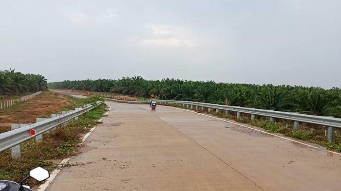 Warga Mesuji Dibegal di Atas Flyover JTTS KM 234 Simpang Pematang: Saya Kaget Ditodong Pisau