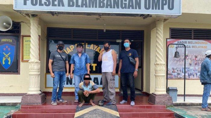 Gelapkan Dana Berkas Pernikahan, Warga OKI Sumatera Selatan Diamankan Polsek Blambangan Umpu