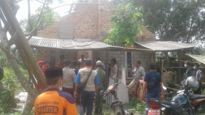 Warga Poncowati Berhamburan Dihantam Puting Beliung, Tak Sempat Selamatkan Harta Benda