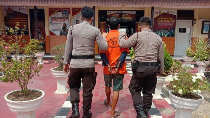 Warga Pringsewu Lampung Digerebek Polisi Saat Sedang Rekap Togel
