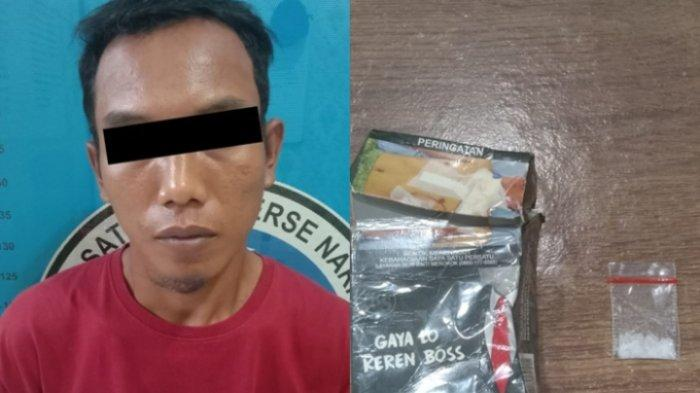 Kerap Peras Sopir Truk, Pemuda di Lampung Tengah Kedapatan Bawa Sabu