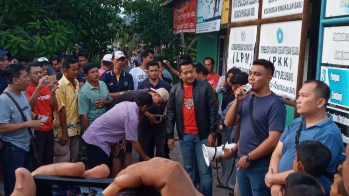 Kondisi Terkini Desa Batu Belubang Bangka Tengah, Warga Sumsel Diultimatum Harus Pergi Sore Ini
