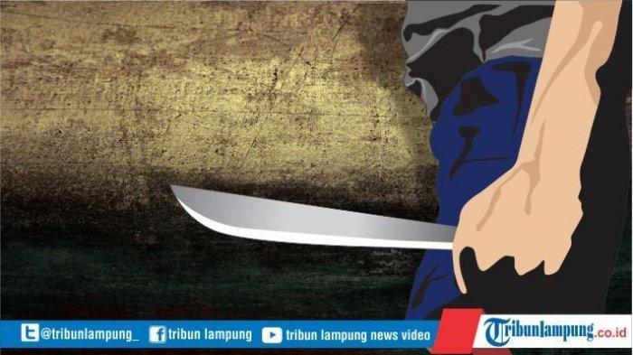 Mabuk saat Hajatan, 2 Tetangga di Lampung Tengah Cekcok hingga Terjadi Pembacokan