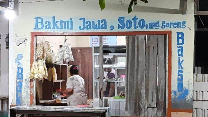 Kuliner Lampung, Warung Bakmie Jawa di Menggala Tawarkan Nasi Goreng dengan Suwiran Daging Ayam